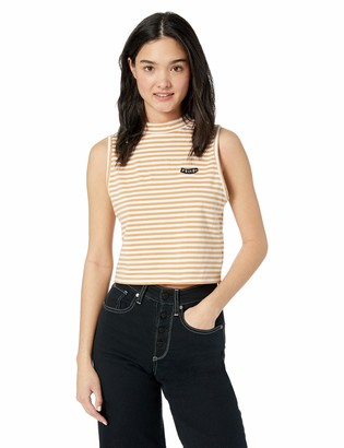 Volcom Women's Looking Out Fitted Mock Neck Tank