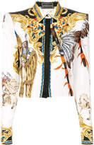 Versace Native American baroque shirt