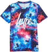 Hype Boys Red Space Print T-shirt