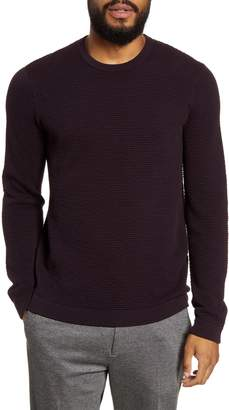 Theory Udeval Crew Breach Slim Fit Sweater