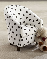 Kids' Corina Polka-Dot Chair