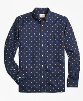 Brooks Brothers Foulard Diamond-Print Sport Shirt