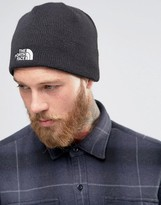The North Face Bones Beanie In Black