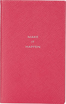 "Smythson Make It Happen"" Panama Notebook"
