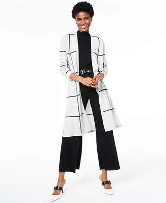 Charter Club 100% Cashmere Duster Cardigan