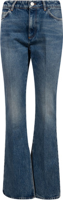 ATTICO Flared Leg Long Jeans