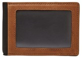 Fossil Men's Tate Rfid Leather Money Clip Wallet - Brown