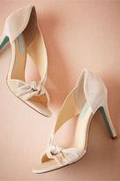 BHLDN Tracey Velvet Heels