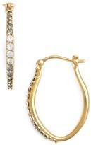 Judith Jack Women's Marcasite & Swarovski Crystal Hoop Earrings