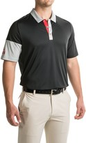 adidas ClimaCool® Sleeve-Block Polo Shirt - Short Sleeve (For Men)