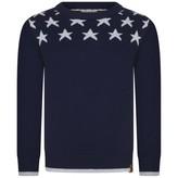 Timberland TimberlandBoys Navy Cotton Knitted Sweater