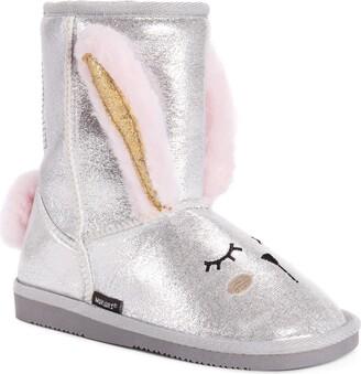 Muk Luks Girls Bunny Boots Fashion