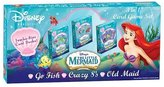 Friendly Games Disney The Little Mermaid 3-in-1 Card Game Set
