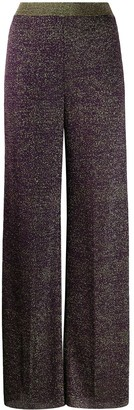 Missoni Glitter-Effect Wide Leg Trousers
