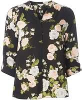 Dorothy Perkins Petite Rose Print Shirt