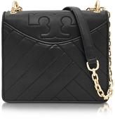 Tory Burch Alexa Black Leather Shoulder Bag