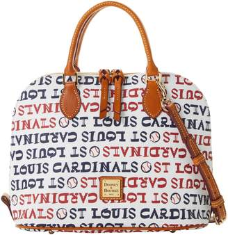 Dooney & Bourke MLB Cardinals Zip Zip Satchel