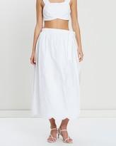 SIR the Label Delilah Wrap Midi Skirt