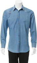 Alexander McQueen Denim Button-Up Shirt