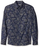 Threads 4 Thought Men's Floral Print Woven Shirt