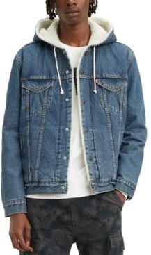 Levi's Men's Hooded Denim Jacket