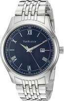 Van Heusen Men's Quartz Metal and Alloy Dress Watch, Color:Silver-Toned (Model: VAN8055)