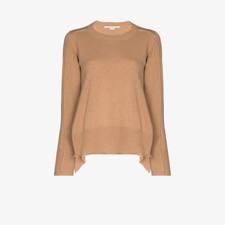 Stella McCartney Seam Detail Cashmere Sweater