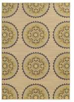 Tommy Bahama Cabana Collection Suzani Ivory 9-Foot 10-Inch x 12-Foot 10-Inch Rug