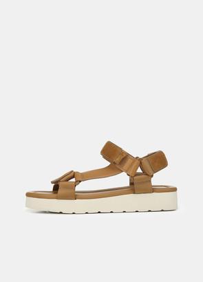 Vince Suede Carver Platform Sandal