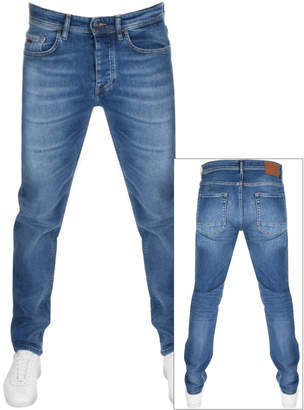 Boss Casual BOSS Casual Taber Tapered Fit Jeans Blue
