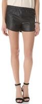 Heidi merrick Vegan Leather Mussel Shorts
