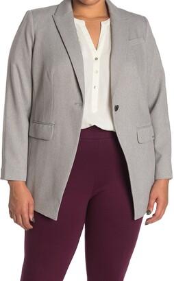Calvin Klein One Button Suit Jacket
