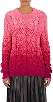 Spencer Vladimir Women's Ombré Cable-Knit Cashmere Sweater