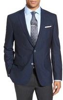 BOSS Men's 'Hutsons' Trim Fit Check Wool Sport Coat