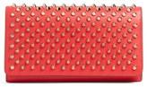 Christian Louboutin Women's Macaron Spiked Calfskin Wallet - Pink