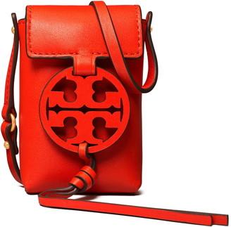 Tory Burch Nano Miller Leather Crossbody Bag