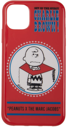 Marc Jacobs Red Peanuts Edition Charlie Brown iPhone 11 Pro Max Case