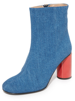 Acne Studios Althea Denim Booties
