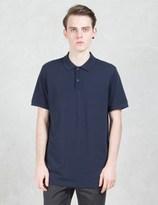 Sunspel Pique S/S Polo Shirt
