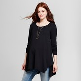 Isabel Maternity by Ingrid & Isabel Maternity Long Sleeve Handkerchief Tunic - Isabel Maternity by Ingrid & Isabel®