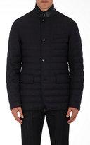 Ermenegildo Zegna Men's Quilted Wool Down Jacket-DARK GREY
