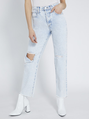 Alice + Olivia Amazing High Rise Boyfriend Jean