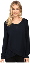 Midnight by Carole Hochman Lounge French Terry Long Sleeve Top
