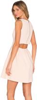 Suncoo Chelsy Back Cutout Dress