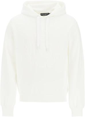Dolce & Gabbana Logo Sweatshirt With Hood