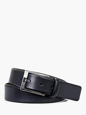 HUGO BOSS HUGO by Gellot Embossed Leather Belt