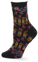 Free People Floral Ankle Socks