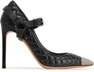 Valentino Garavani Rockstud Spike Leather Pumps