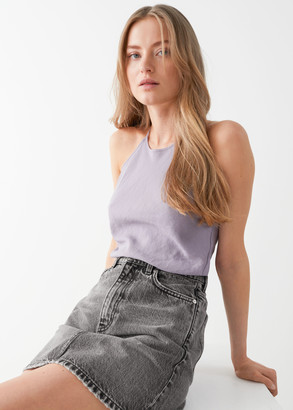 And other stories Twisted Strap Top
