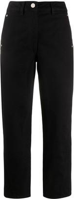 Lemaire Stud Detail Straight Cut Denim Trousers